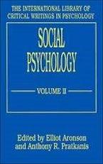 Social Psychology (Vol. 2)