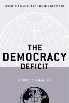 The Democracy Deficit