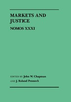 Markets and Justice