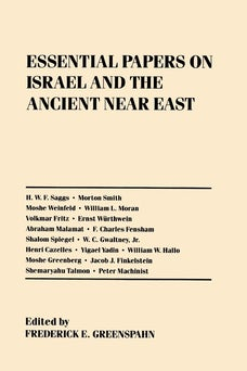 Essential Papers on Israel and the Ancient Near East