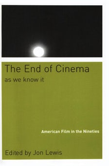 The End Of Cinema As We Know It