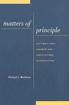 Matters of Principle