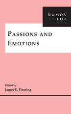 Passions and Emotions
