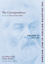 The Correspondence: Volume III