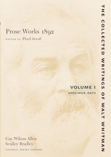 Prose Works 1892: Volume I