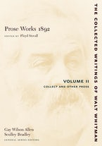 Prose Works 1892: Volume II