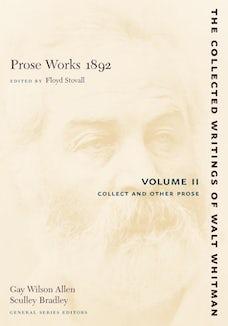 Prose Works 1892: Volume II