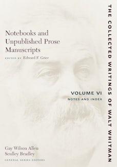 Notebooks and Unpublished Prose Manuscripts: Volume VI