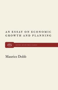 An Essay on Econ Growth and Plan