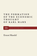 Formation of Econ Thought of Karl Marx