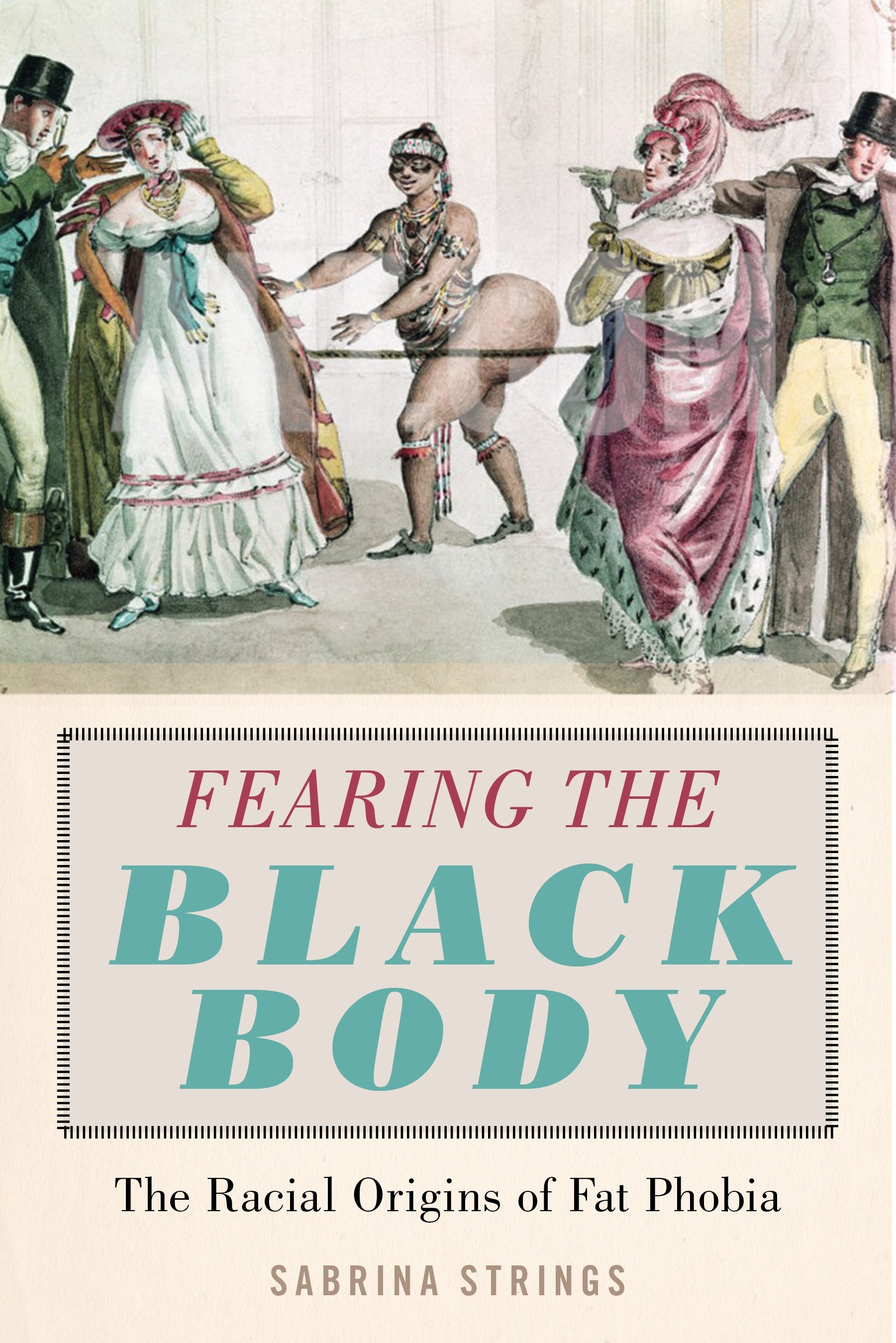 Cover of Fearing the Black Body