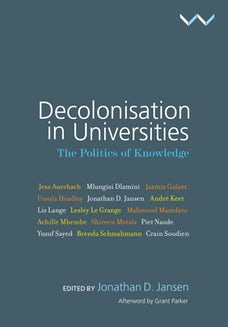 Decolonisation in Universities